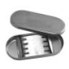 Лоток стоматологический с крышкой для боров  AISI 304