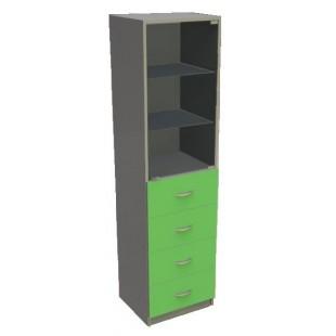 Шкаф одностворчатый ШО-1,7
