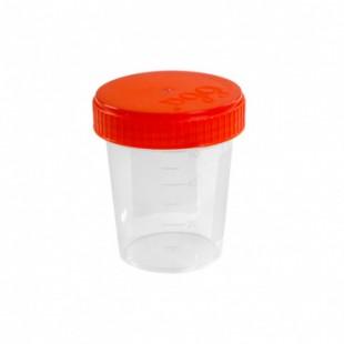 Контейнер для биопроб  60 мл. полимерный