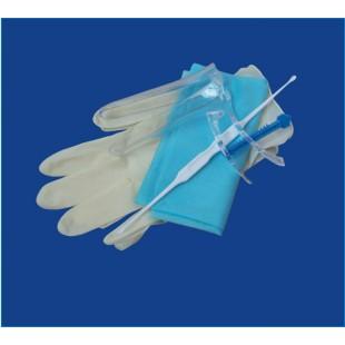 Набор гинекологический Ева : (салфетка 40х60, перчатки латексные, зеркало по Куско № 1 прозрачное, зонд комбинированный)
