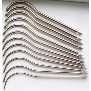 Бужи уретральные металлические изогнутые